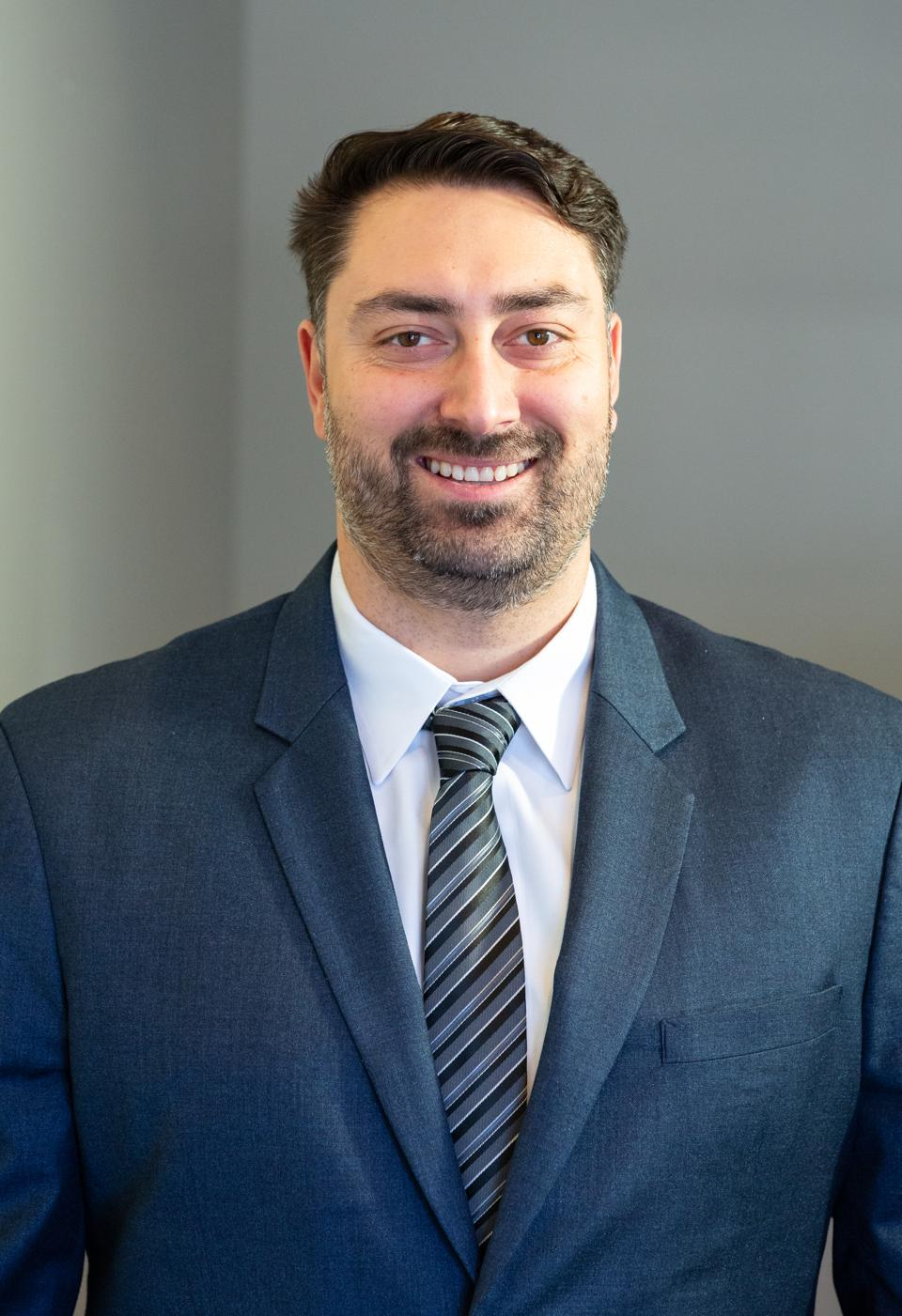 Portrait of male CEO in a suit