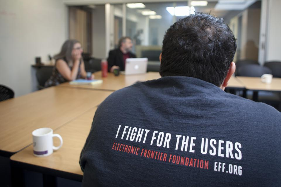 Electronic Frontier Foundation offices in San Francisco, CA