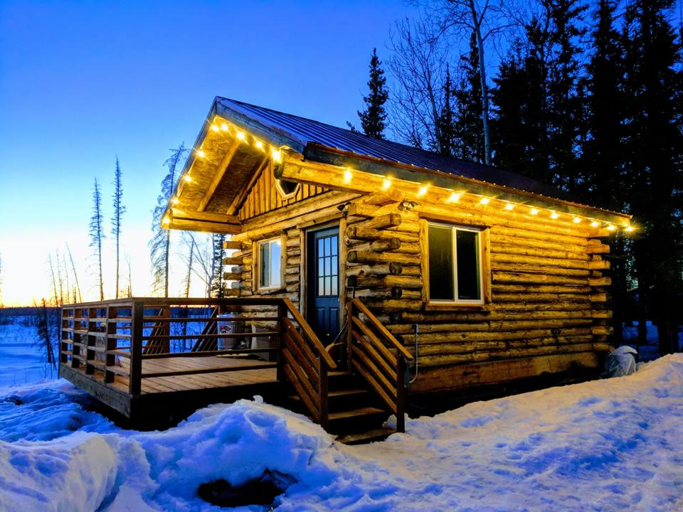 The Coop Cabin was voted the best Hipcamp to visit in Alaska this year.