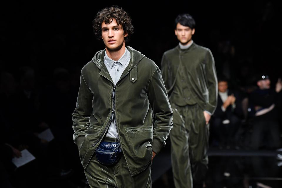 Giorgio Armani - Runway - Milan Men's Fashion Week Fall/Winter 2020/2021
