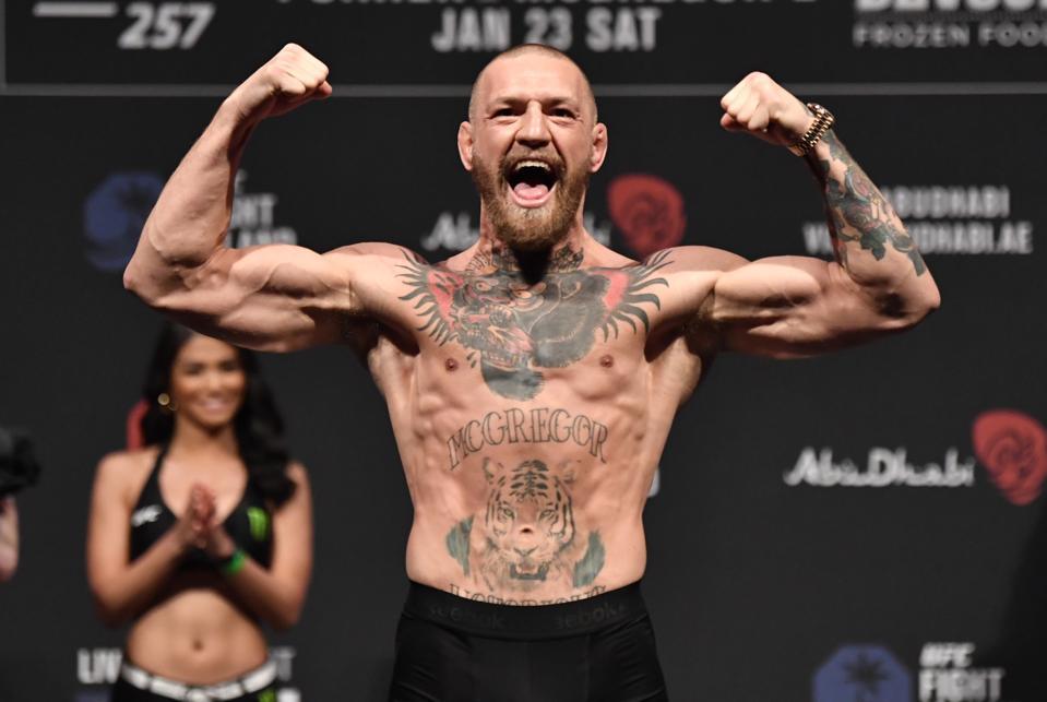Conor McGregor Faces Dustin Poirier in the main event of tonight's UFC 257