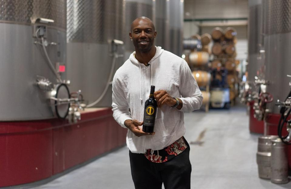 Terrell Owens has entered the wine industry.