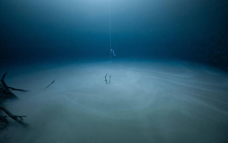 Ocean Photography Awards:  Freediving in Yucatan Peninsula, Mexico.