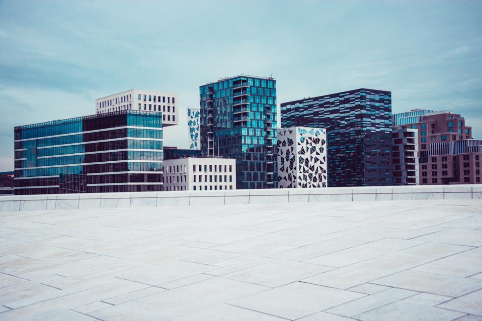 Bjørvika Barcode, Modern Buildings in Oslo, Norwey