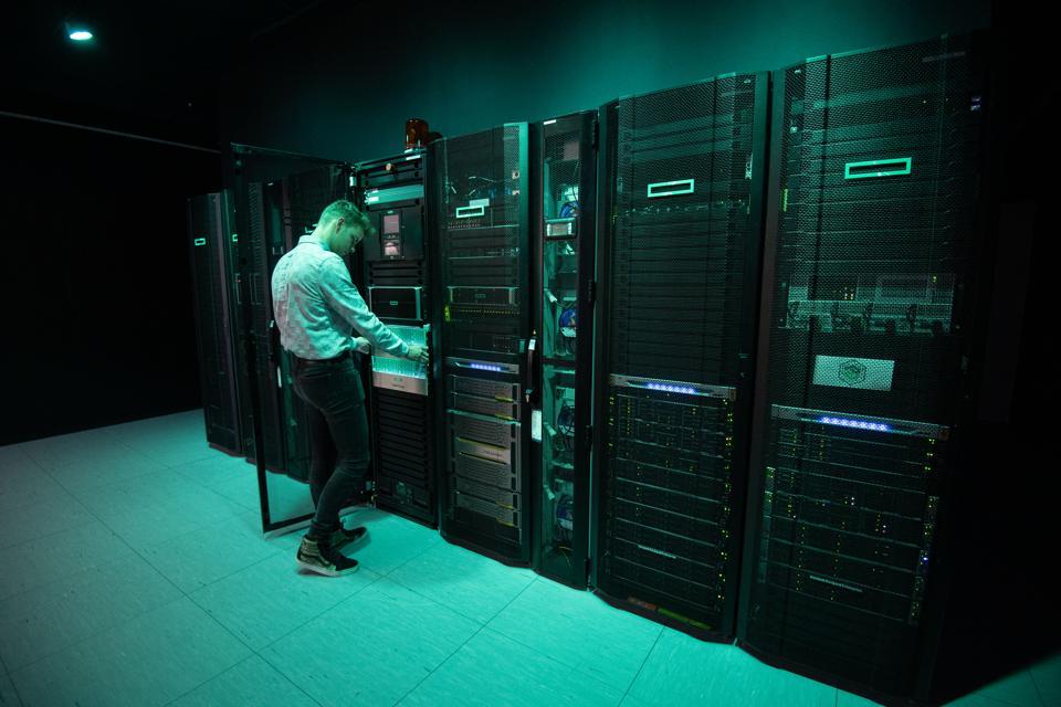 IT company Hewlett Packard Enterprise