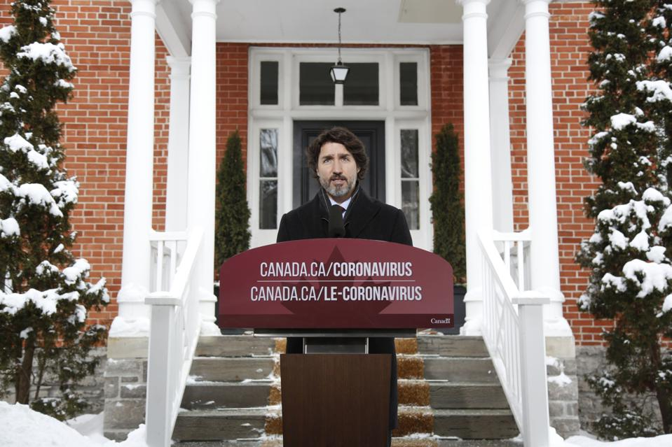 Prime Minister Justin Trudeau Holds News Conference