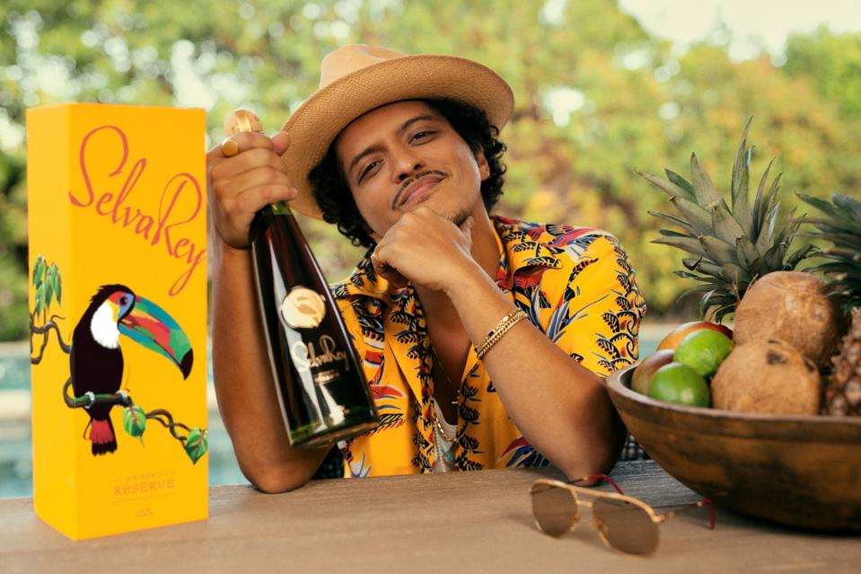 Bruno Mars and SelvaRey Owner's Reserve