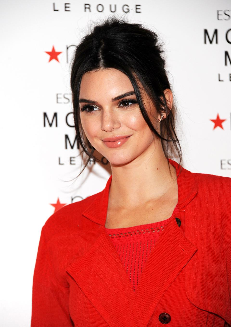 Kendall Jenner Celebrates The Launch Of The New Estee Lauder Fragrance Modern Muse Le Rouge