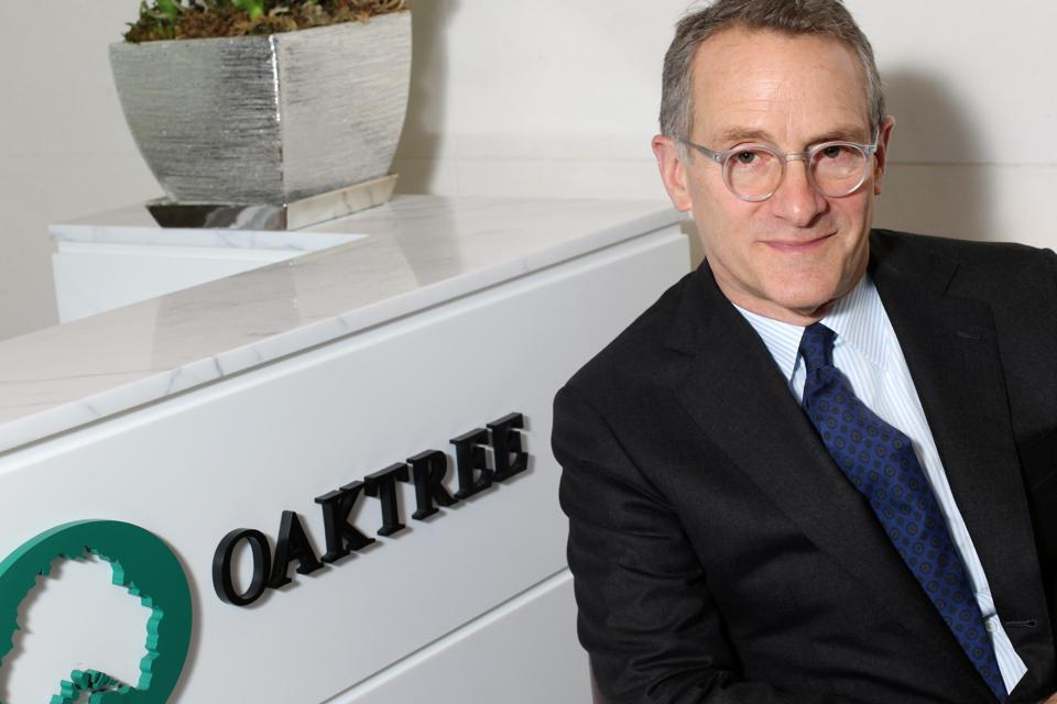 Howard Marks, Chairman of Oaktree Capital Management, poses for a photo in Central. 08NOV13