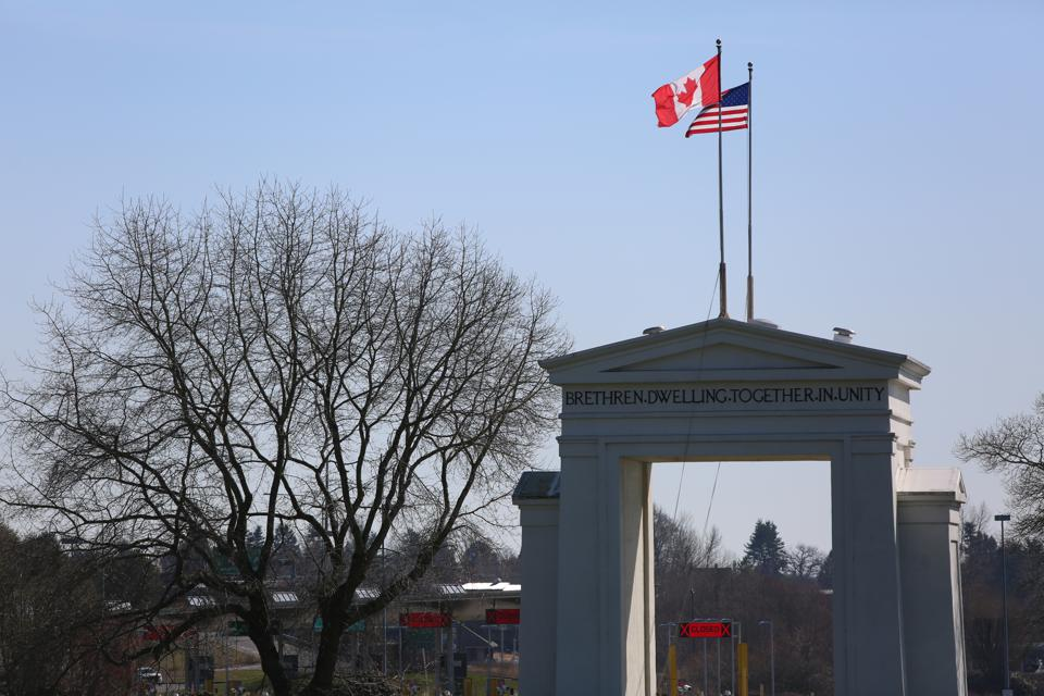 The U.S./Canadian border is closed but not to air travel–a loophole the Canadians now hope to close