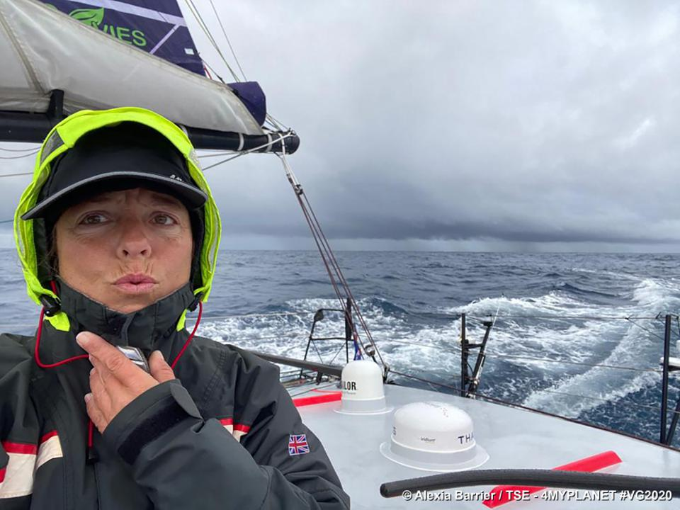 Skipper Alexia Barrier in the Southern Ocean