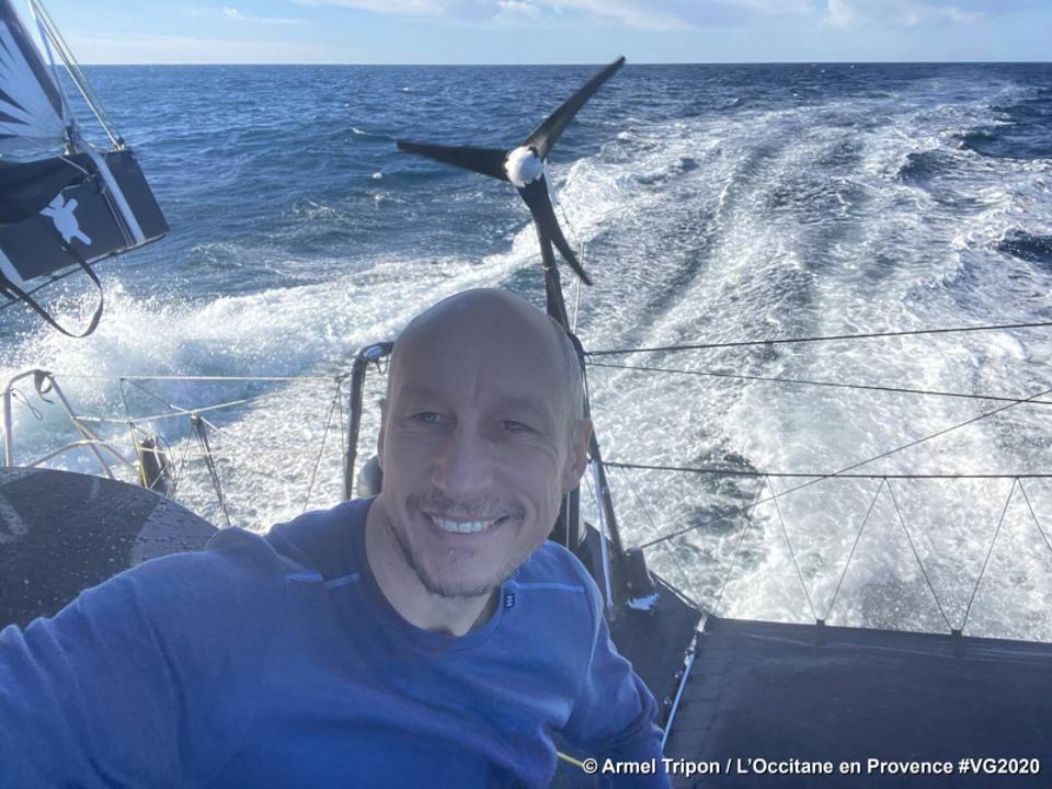 Skipper Armel Tripon