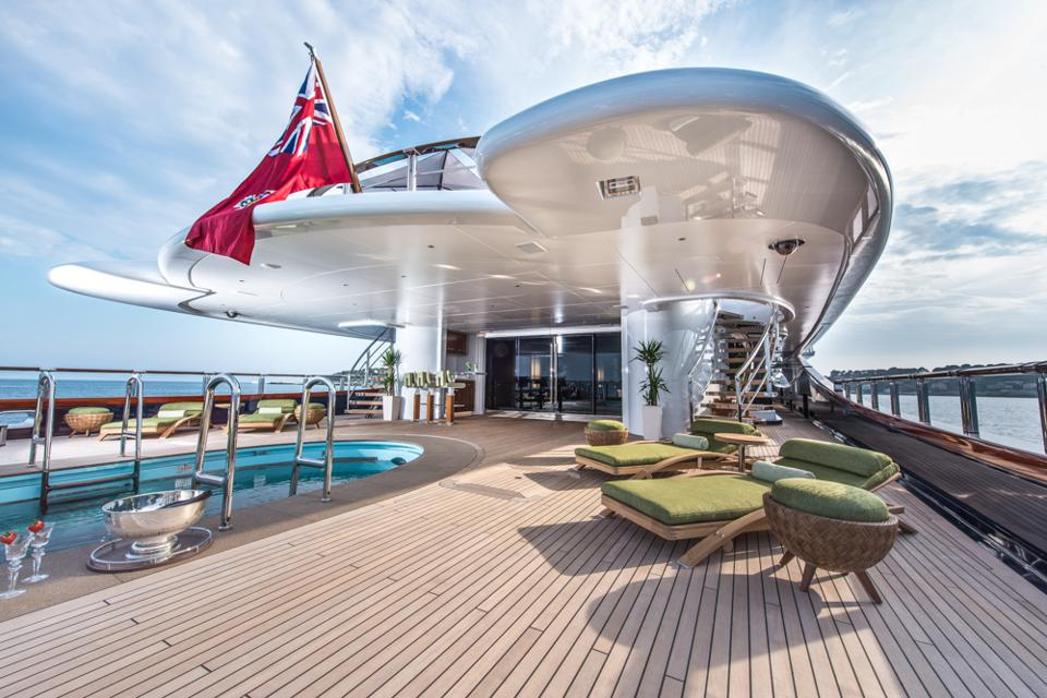 Oceanco is known for the pools they build onboard superyachts