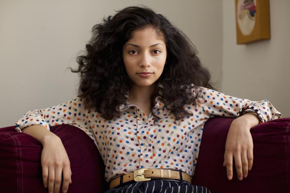 Young Hispanic women are confident.
