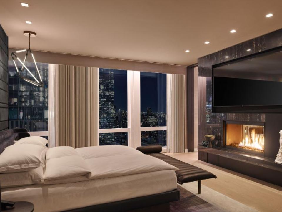 Equinox Hotel rooms emphasize good health