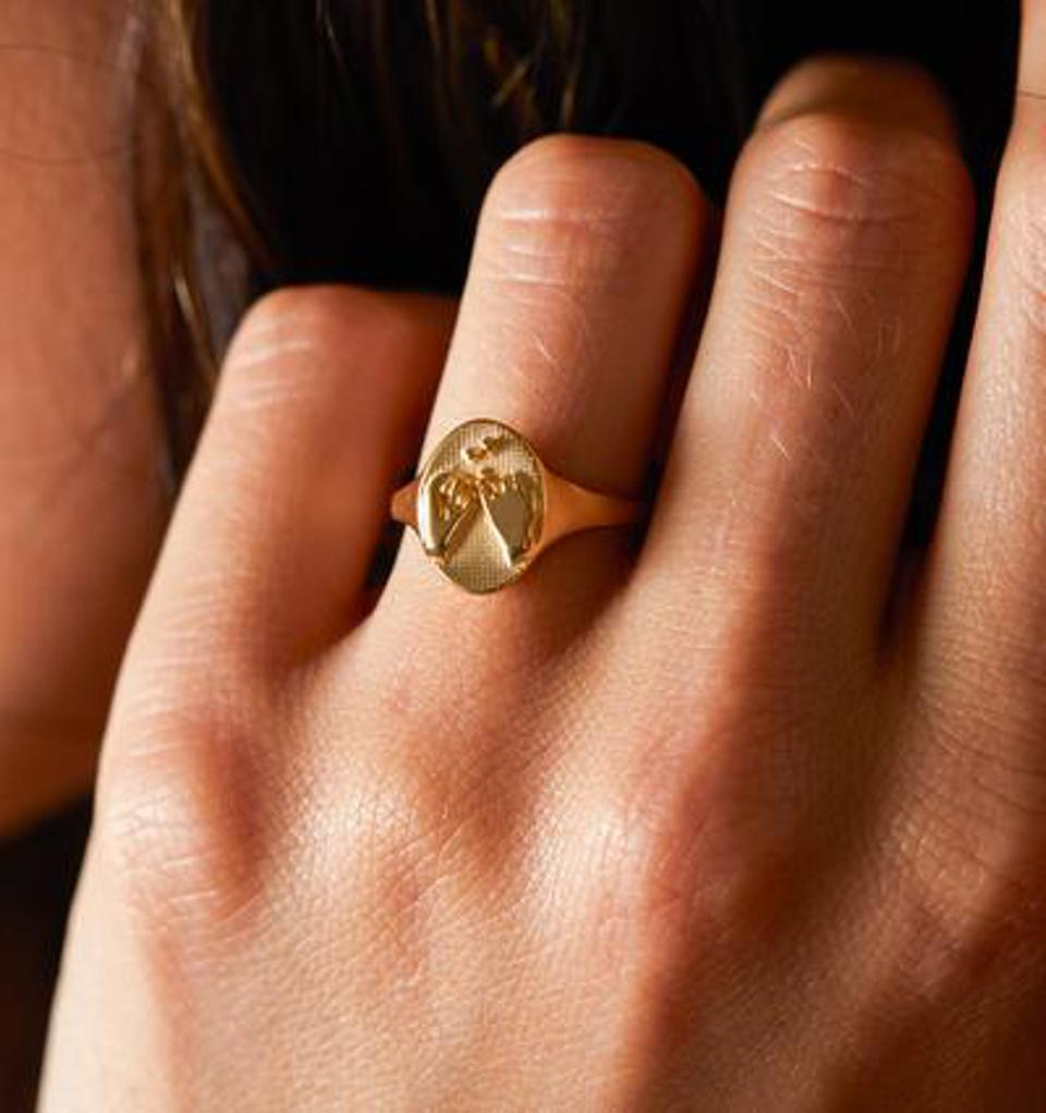 RELLERY Promise Signet Ring