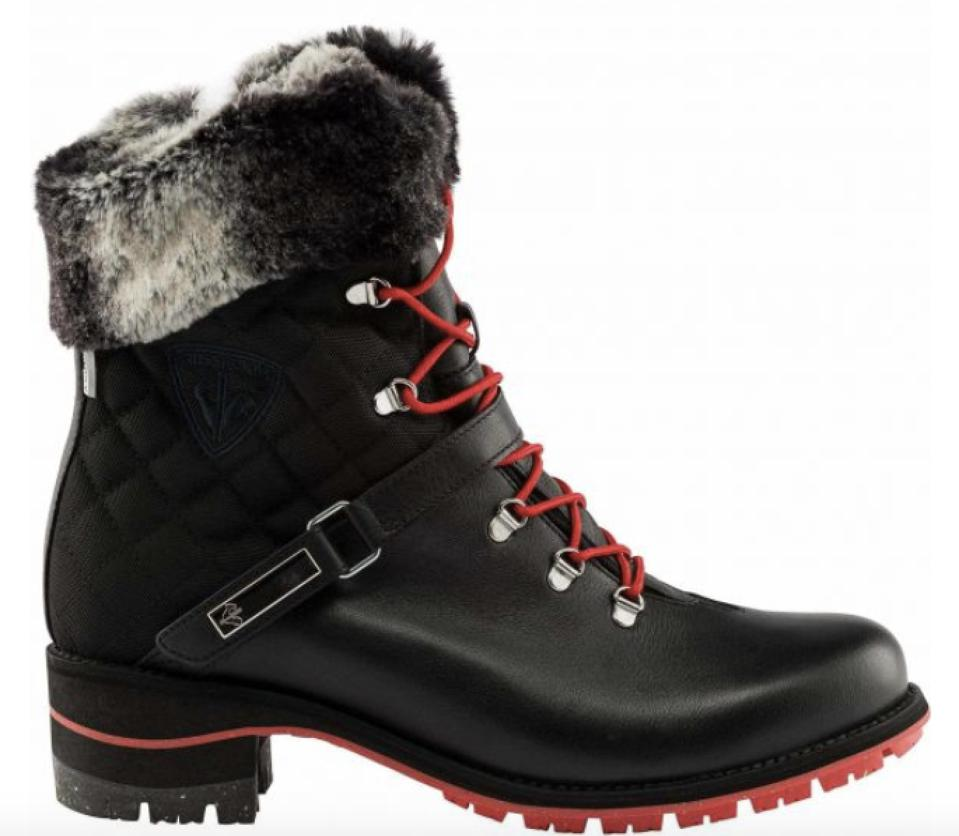 Rossignol's 1907 Megeve Black Boots