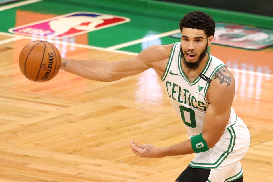 Boston Celtics' Jayson Tatum