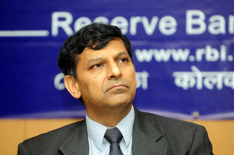 RBI Governor Raghuram Rajan At Office