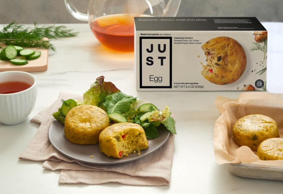 Eat Just and Cuisine Solutions have created a premium plant-based egg product.