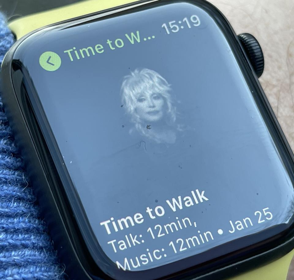 Time to Walk... with Dolly Parton