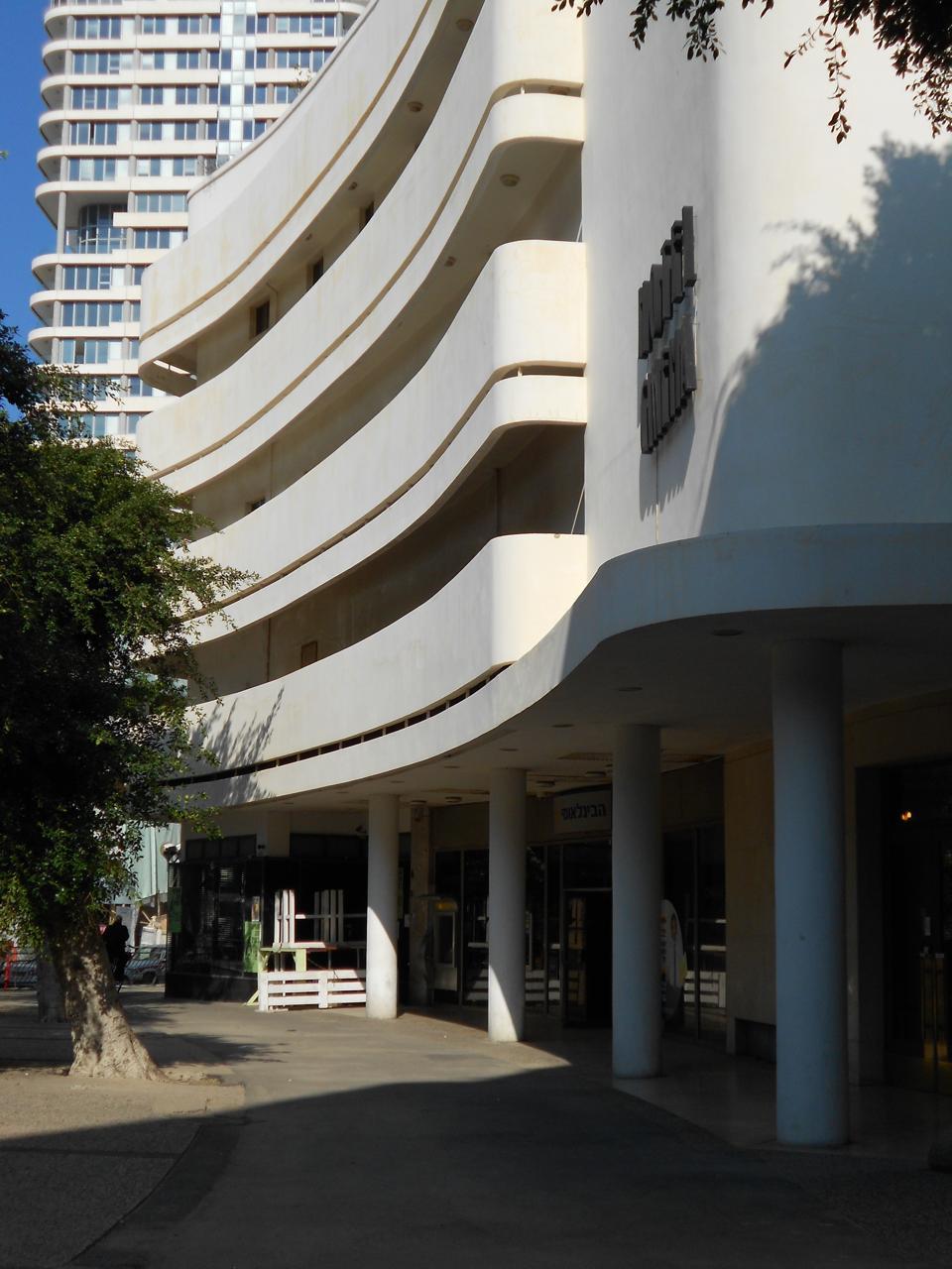 Bauhaus architecture Tel Aviv White City.