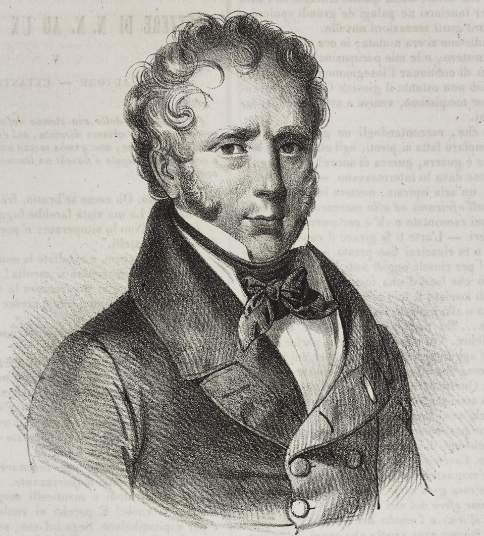 Portrait of Marie Antoine Careme (1784-1833)