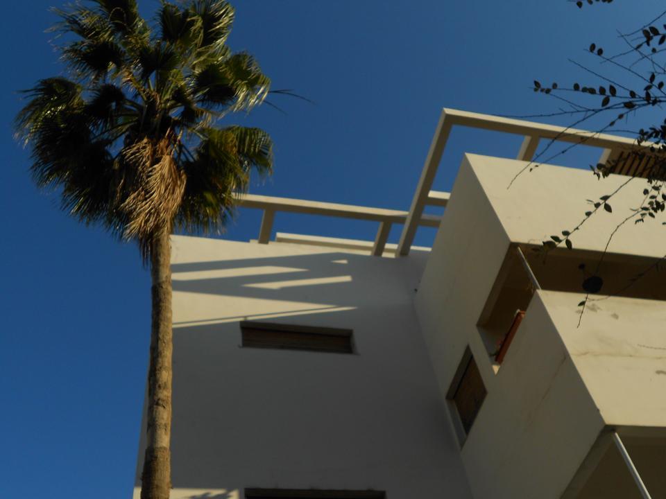 Bauhaus architecture White City Tel Aviv