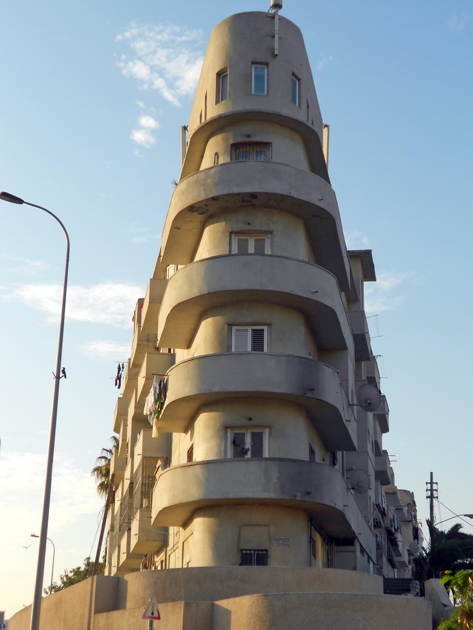 Bauhaus architecture Tel Aviv