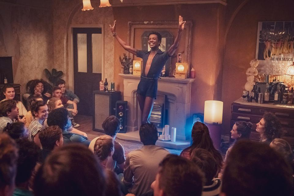 Omari Douglas as Roscoe in 'It's A Sin'