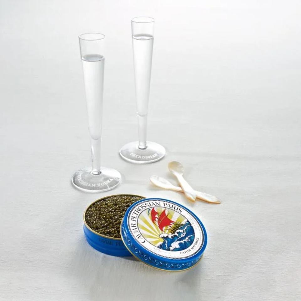 Petrossian Caviar Showcase for Two