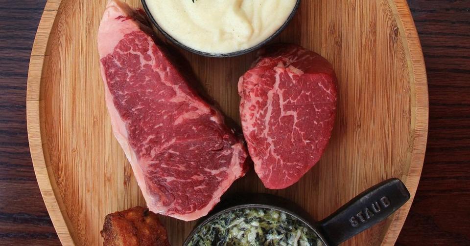 Old Homestead Steakhouse Steak Dinner Kit for 2