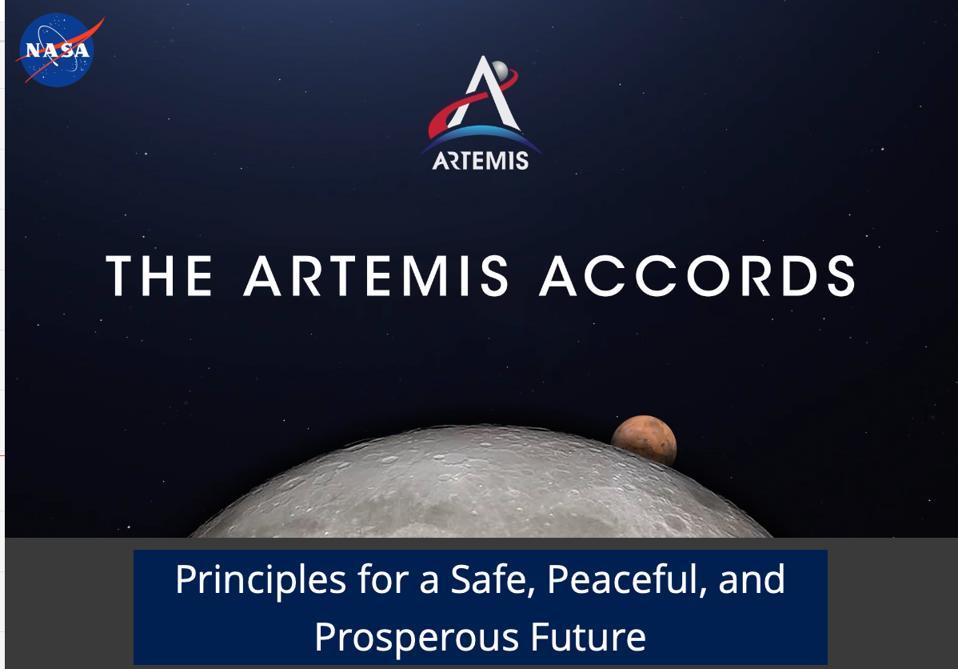 Artemis Accords Webpage