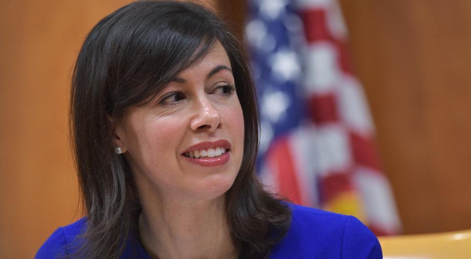 Photo of FCC Acting Chairwoman Jessica Rosenworcel
