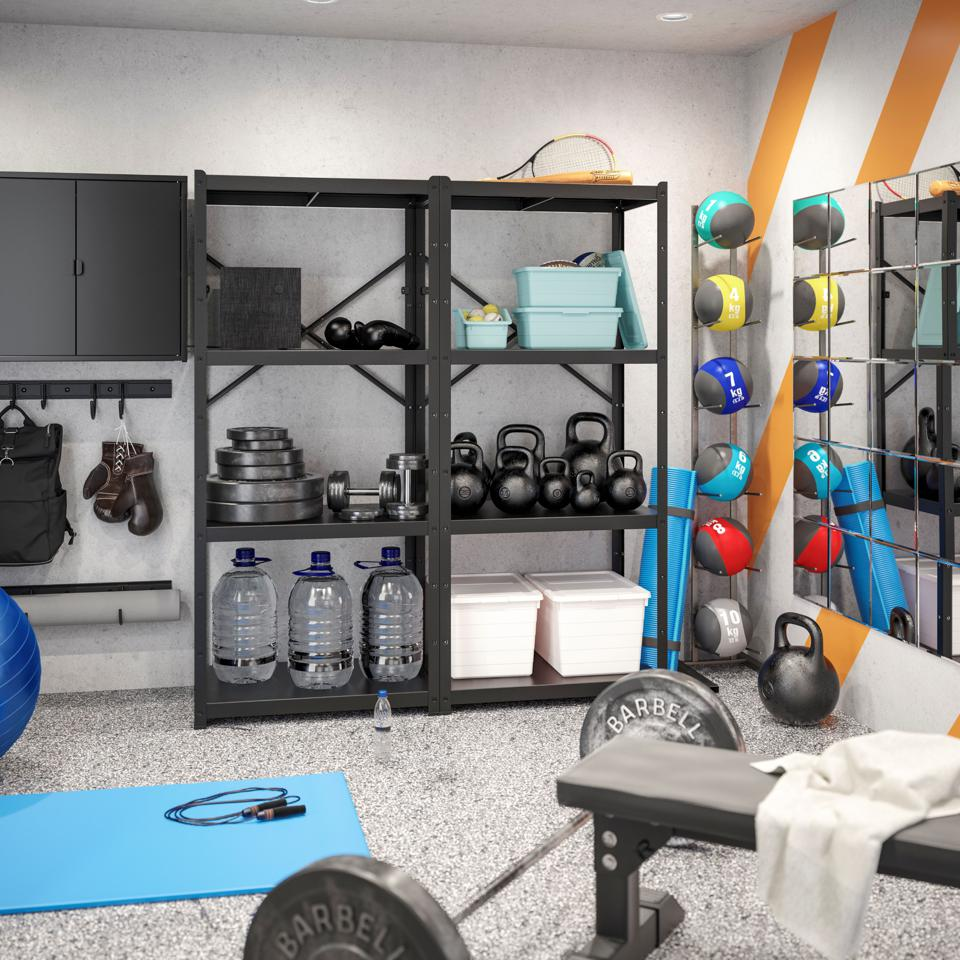 Fitness room in home