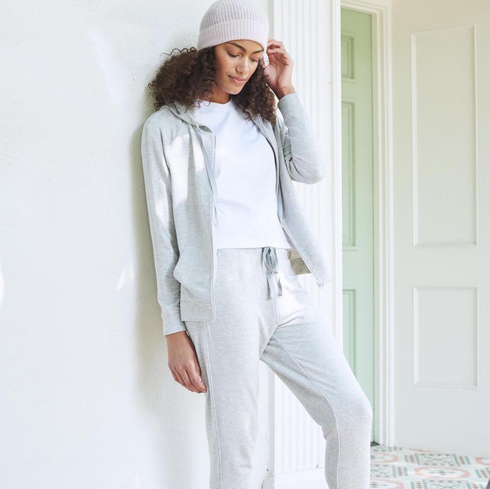 woman, clothing, sweatpants