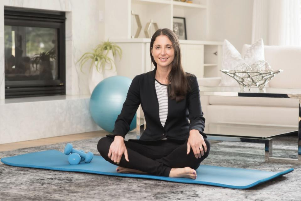 Lindsey Cook, CEO and Founder of FitOn App.