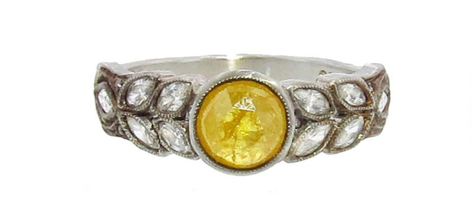Bague diamant jaune parCathy Waterman
