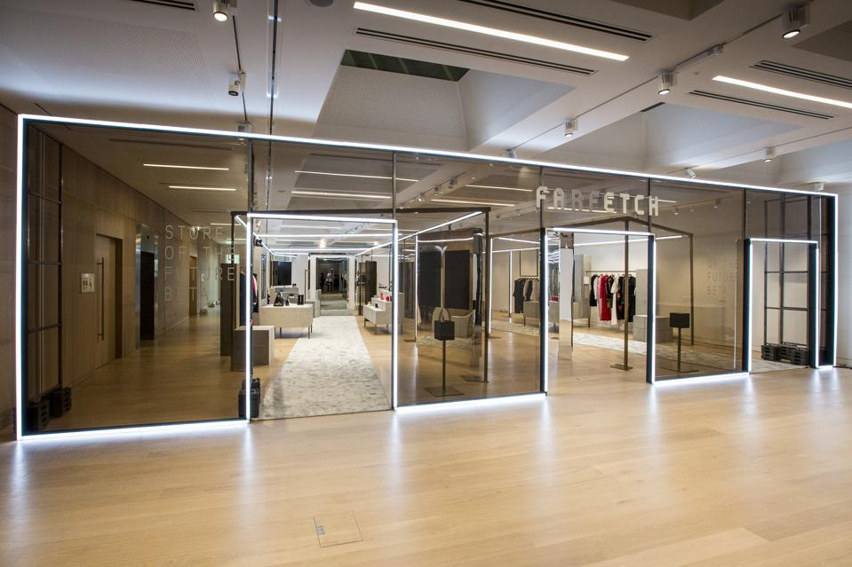 Farfetch's Store of the Future functions like a genuine store for experimentation