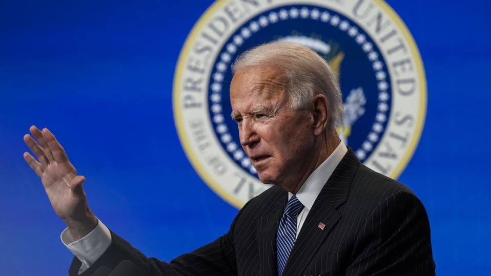 President Biden Signs Executive Order After Delivering Remarks On American Manufacturing