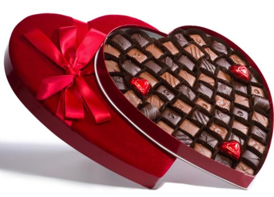 Li-Lac 63-pc Chocolate Heart