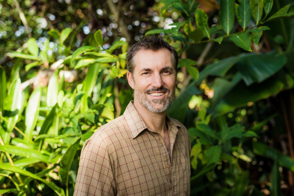 Mana Botanics founder and CEO Steve Sakala in Hawaii.