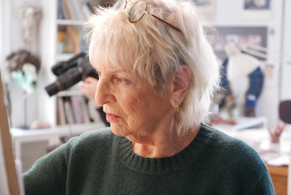 The artist Audrey Flack