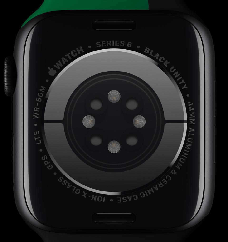 Limited edition Apple Watch Series 6 with special engraving.