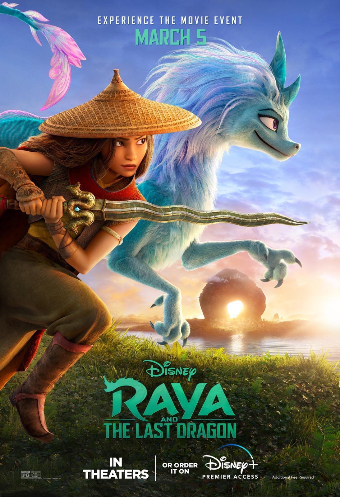 'Raya and the Last Dragon' poster