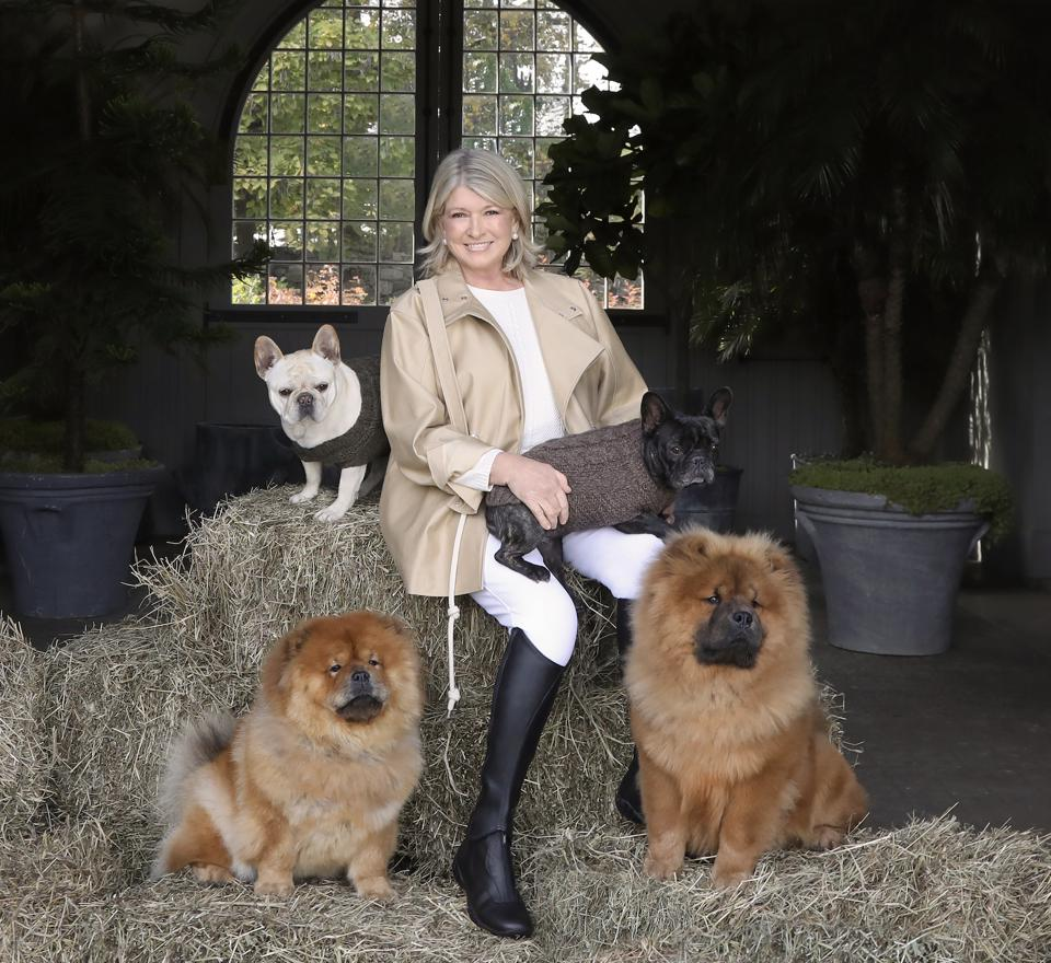 Martha Stewart with dogs, Martha Stewart dog treats
