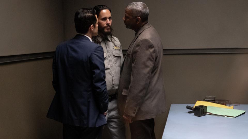Rami Malek, Denzel Washington and Jared Leto in John Lee Hancock's 'The Little Things'