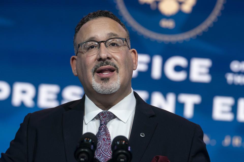 Education Secretary Nominee Miguel Cardona