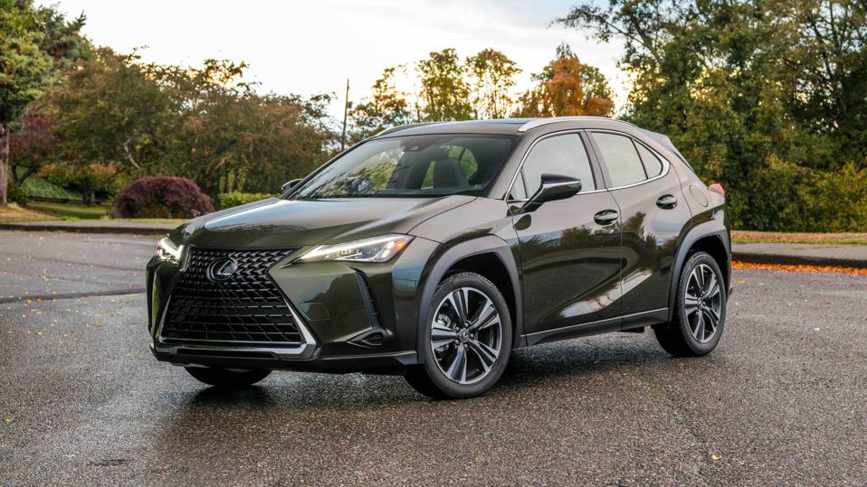 The subcompact Lexus UX 200 is the most fuel-efficient SUV for 2021 at 29 mpg in the city and 37 mpg on the highway.