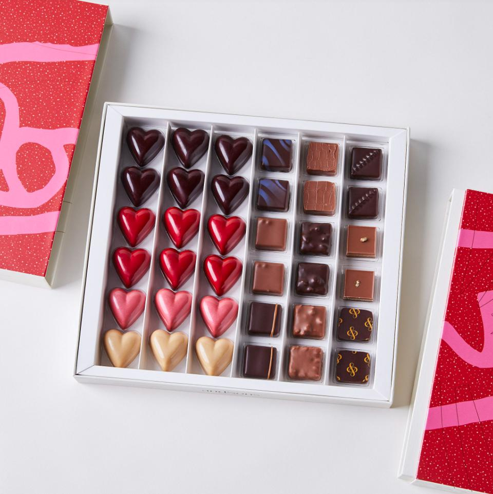 andSons Chocolatiers Valentines Chocolate Gift Set